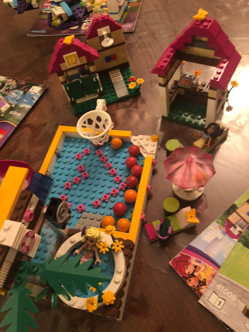 LEGO friends heart lake pool