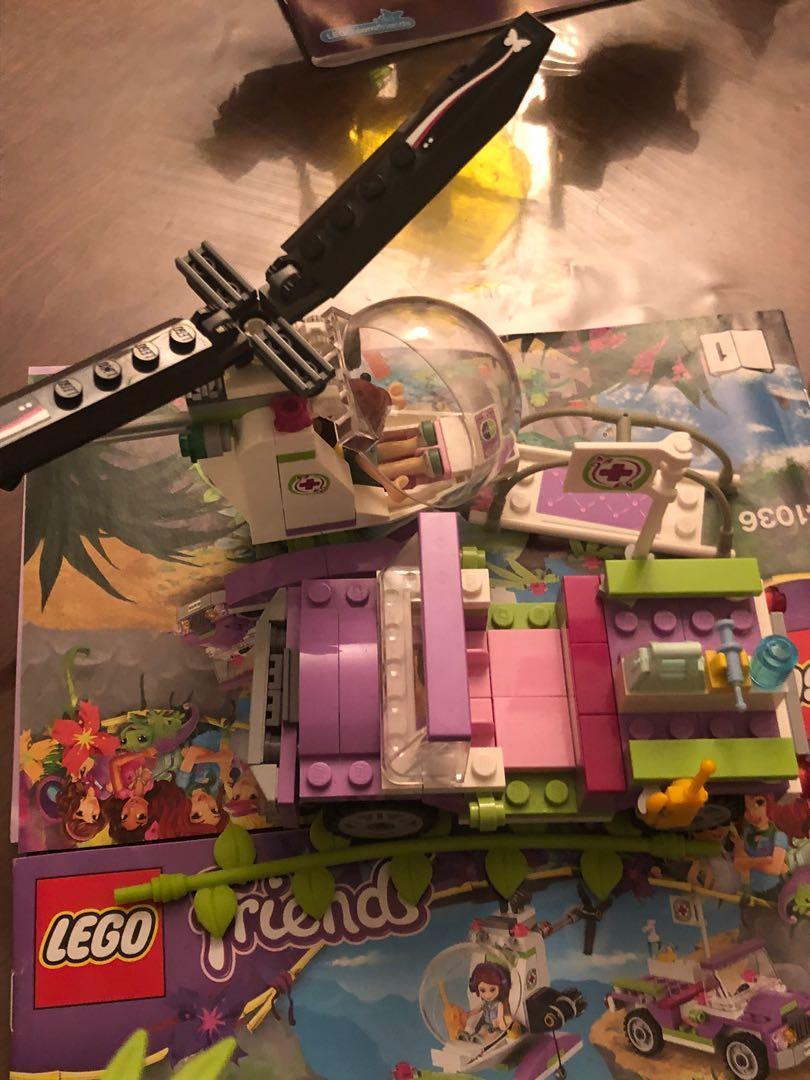 LEGO friends jungle bridge rescue