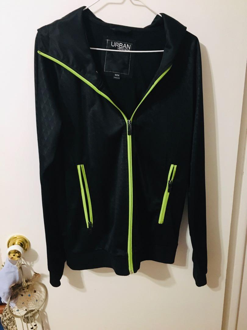 Mens athletic zip up