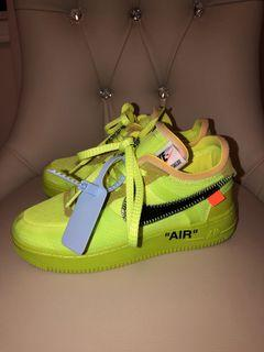 Nike Off White runners size 6