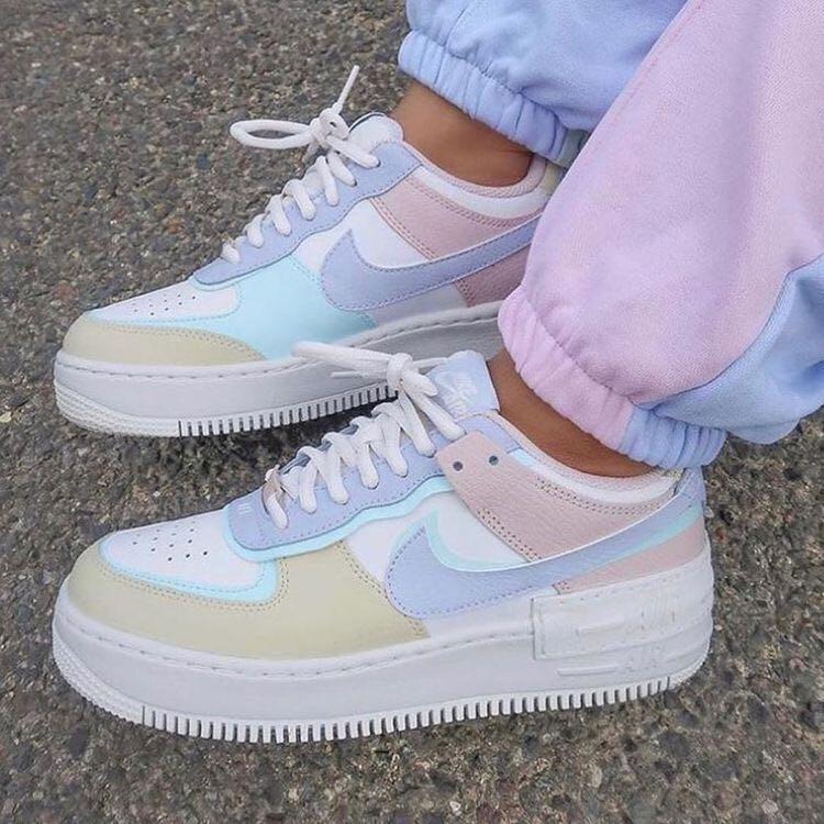 Authentic Pastel Nike Air Force 1