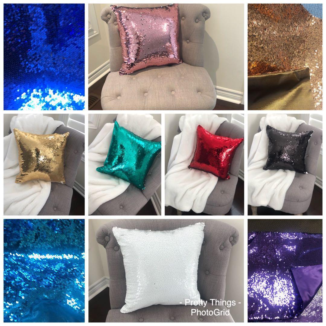 Pillow-Sequins pillow