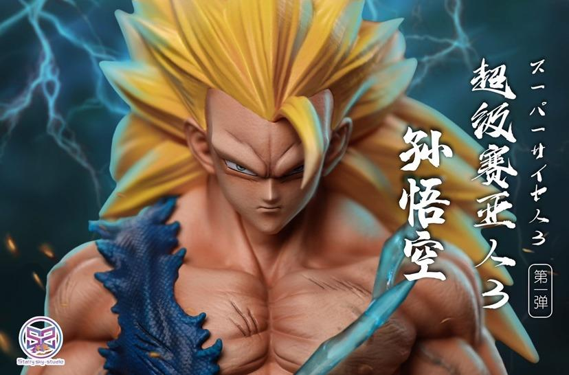[PO]DRAGON BALL: SUPER SAIYAN 3 SON GOKU FIGURE STATUE Starry Sky Studio