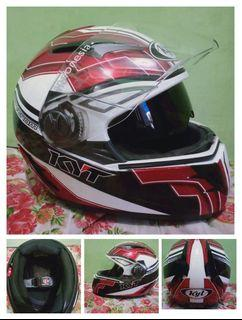 [PRELOVED] Helm Kyt Full Face No Box Size XL