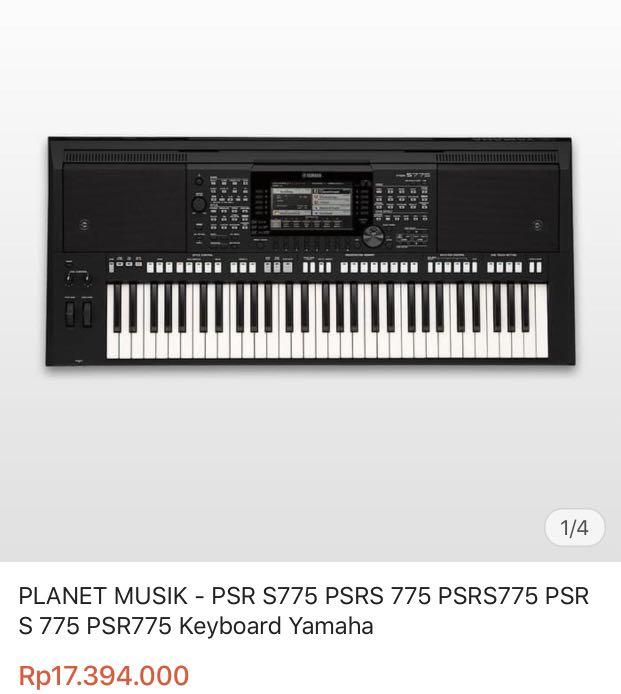 Preloved Keyboard yamaha PSR S775