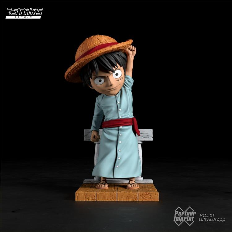 [PRE-ORDER]ONE PIECE: LUFFY AND USOPP STATUE FIGURE
