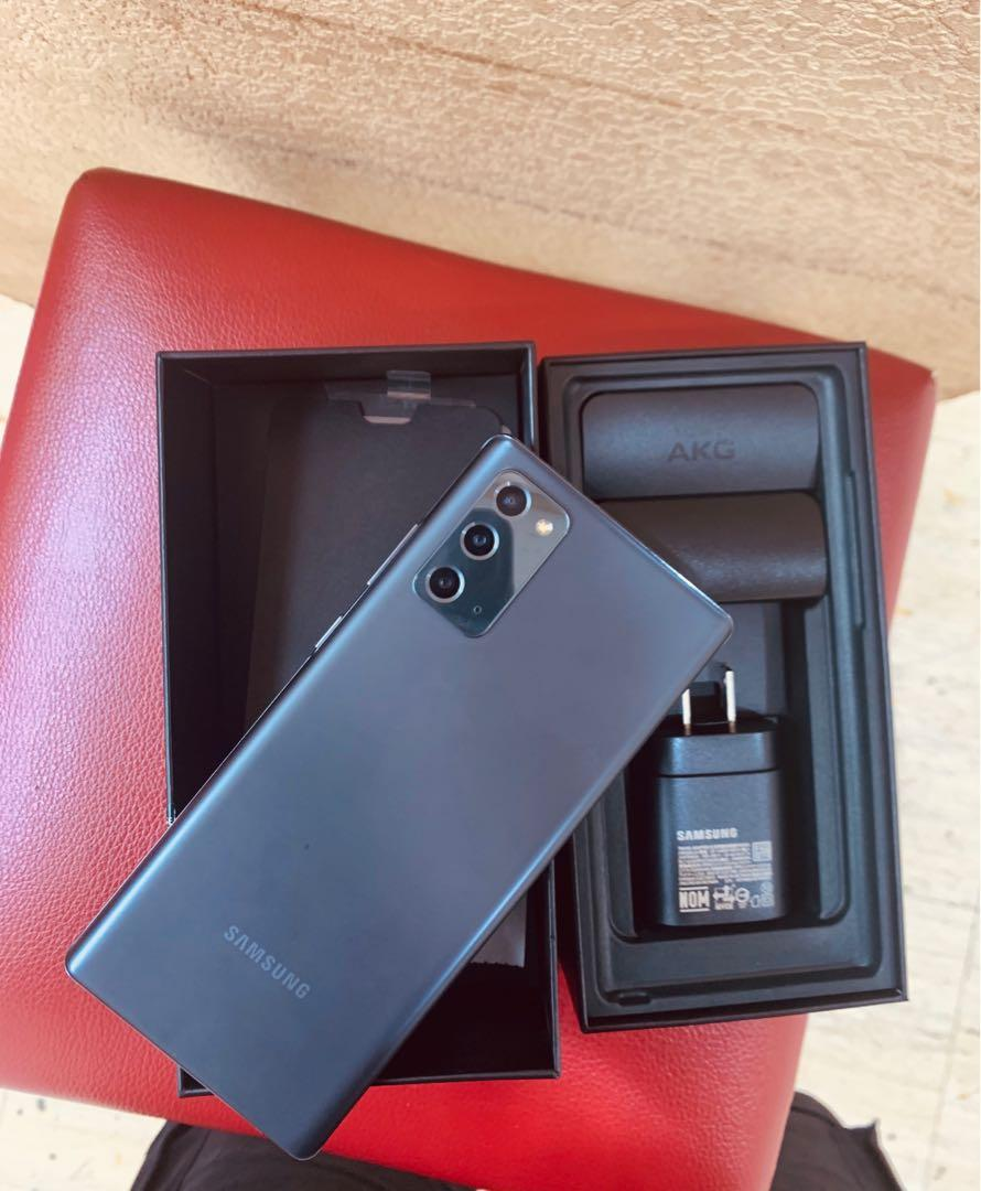 Samsung Galaxy Note 20 256G黑色