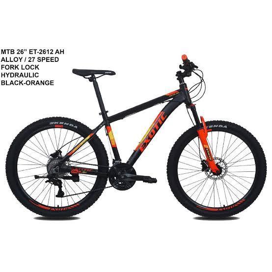 Sepeda Gunung Exotic Size 27,5 Bisa cicilan tanpa CC