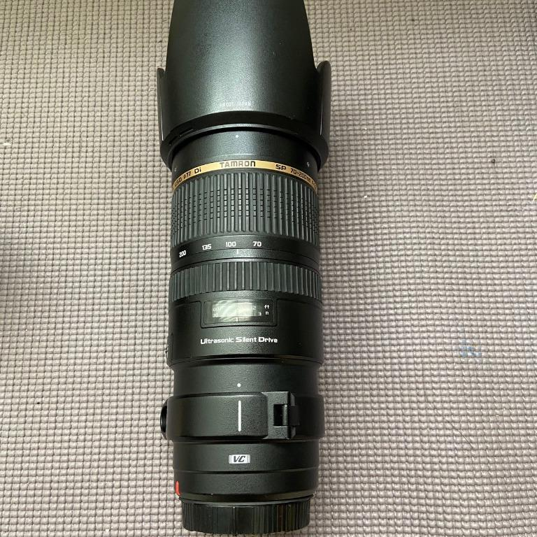 Tamron A009 SP 70-200mm f2.8 VC USD for Canon