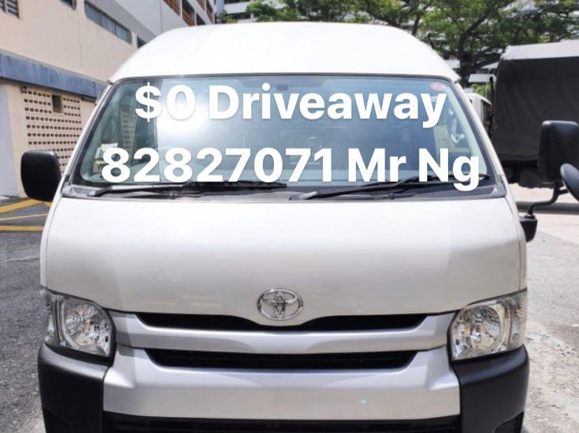 Toyota Hiace Commuter 3.0 High Roof Auto
