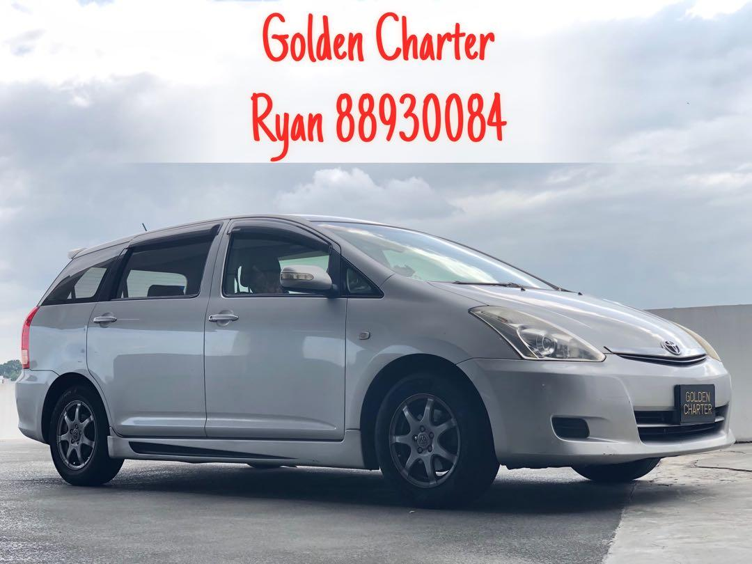 Toyota Wish For Rent ! Contact 88930084