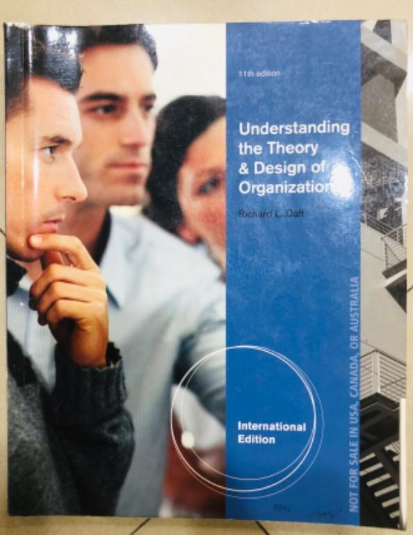 Understanding the Theory & Design of Organizations