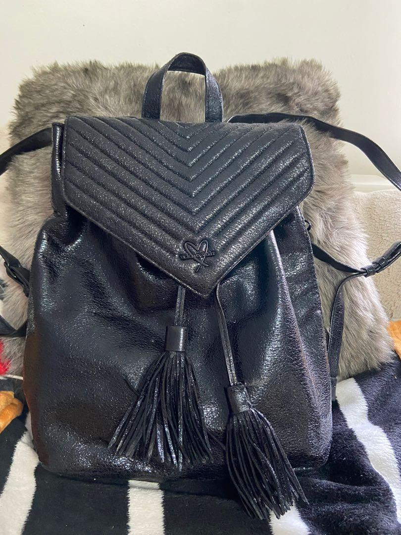 Victoria's Secret quilted backpack