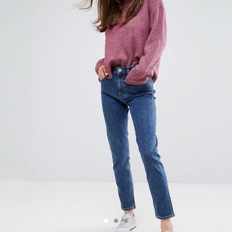 Weekday Seattle Straight-leg Jeans