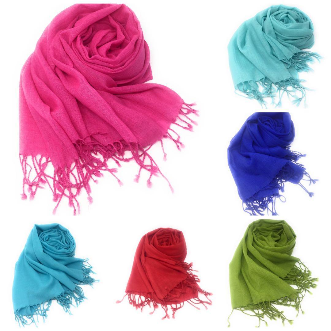 Wool shawl scarf wrap pashmina