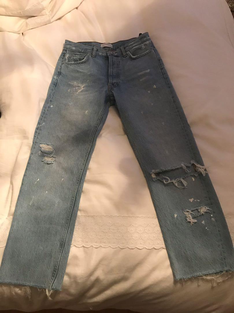 Zara Straight Jeans
