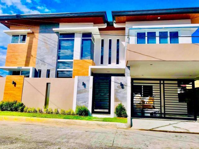 Newly built 4BR with swimming pool House & Lot FOR SALE in Angeles Cit