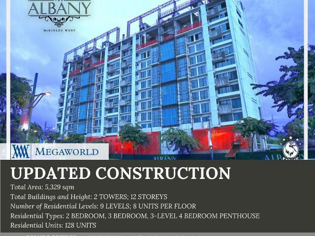4BR Penthouse (349 SQM) at the Albany Luxury Residences in Mckinley, T