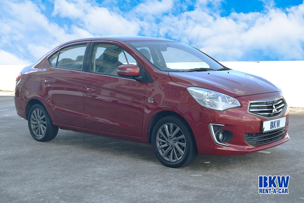 Mitsubishi Attrage - BKW Rent A Car
