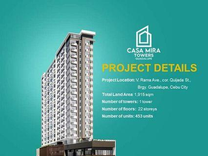 Very Affordable 1-Bedroom Condo Unit in Cebu City, For as Low as 8K pe