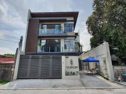 House and lot for sale in Mandaluyong City near Makati City The Bedfor