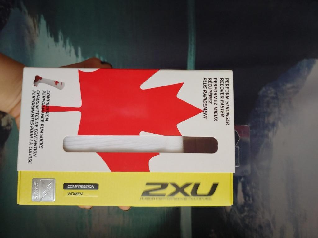 2XU Compression Socks (Women's Small, Canadian Logo)