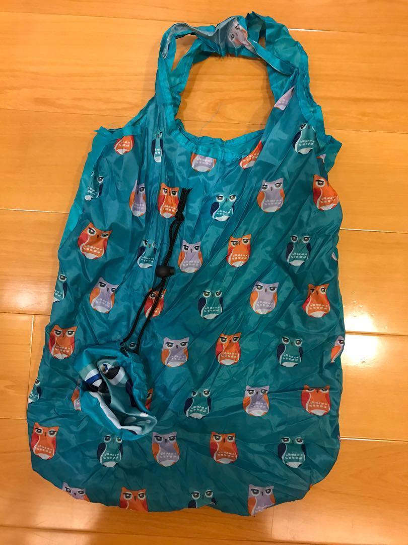 貓頭鷹購物袋