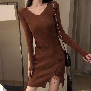 針織洋裝連衣裙,性感、彈性佳,全新 M-L