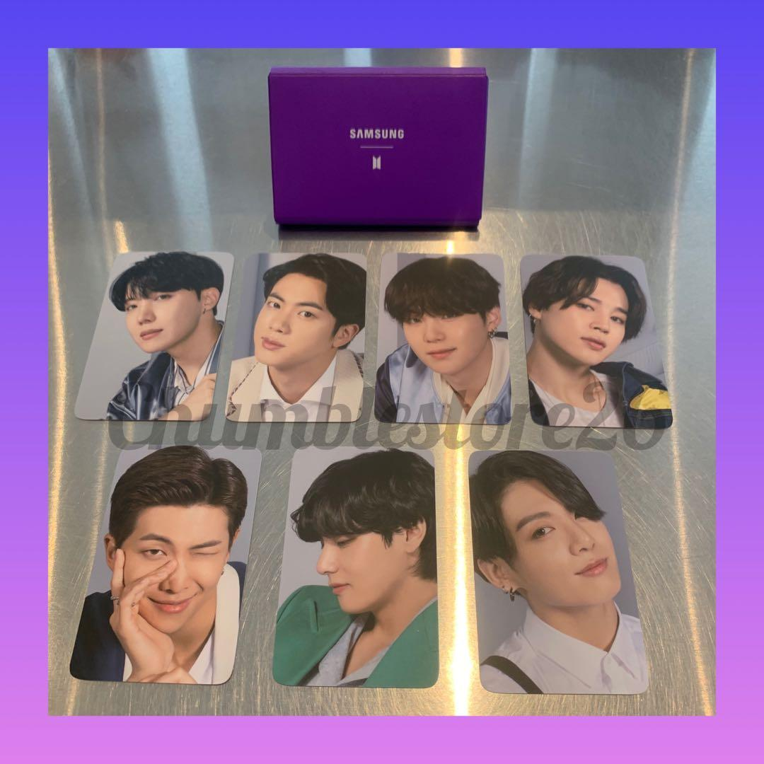 [ OFFICIAL ] Photocard BTS Samsung New S20