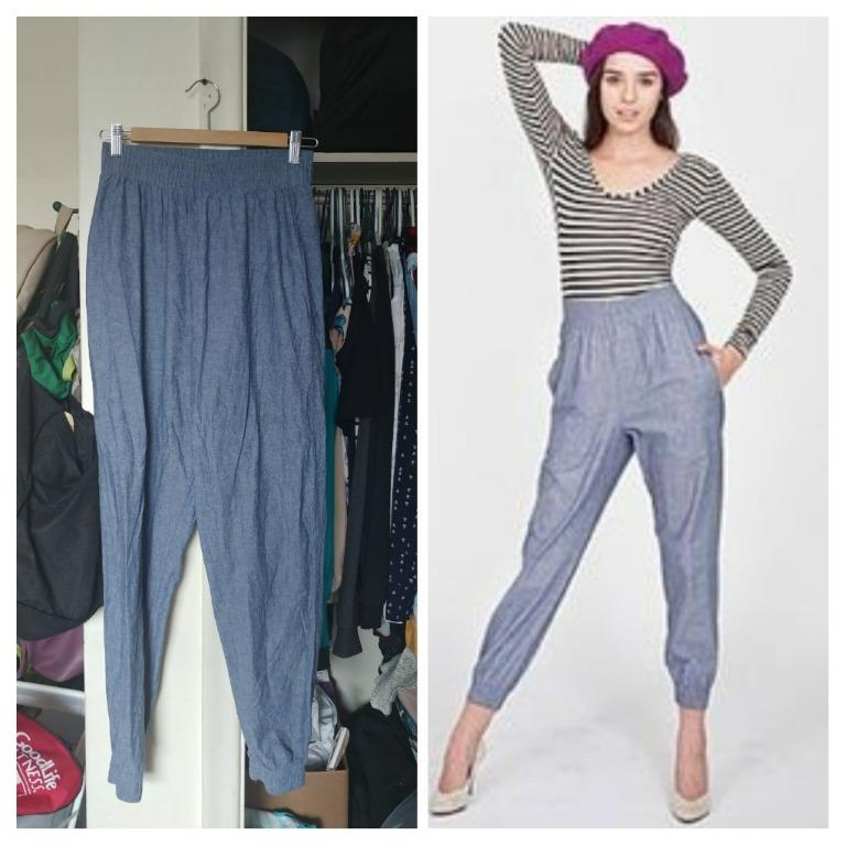 American Apparel Chambray Pants (Medium)