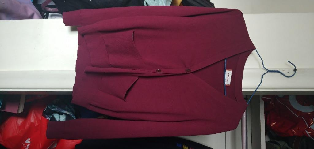 "Aritzia ""SUNDAY BEST"" Red Cardigan (Small)"