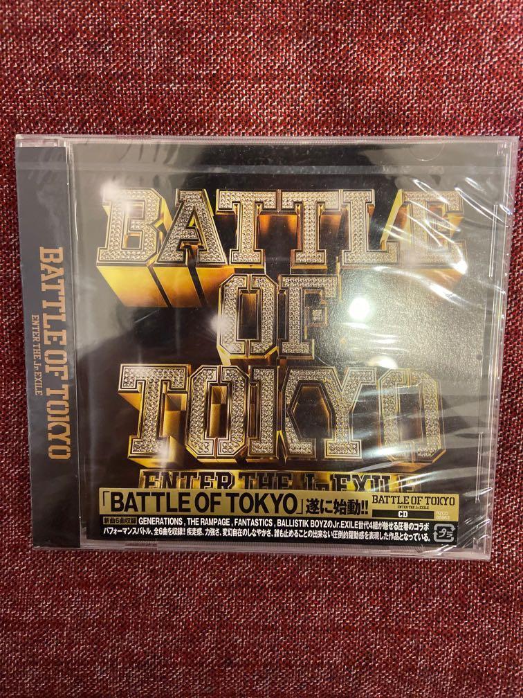Battle of Tokyo CD 專輯Jr. Exile