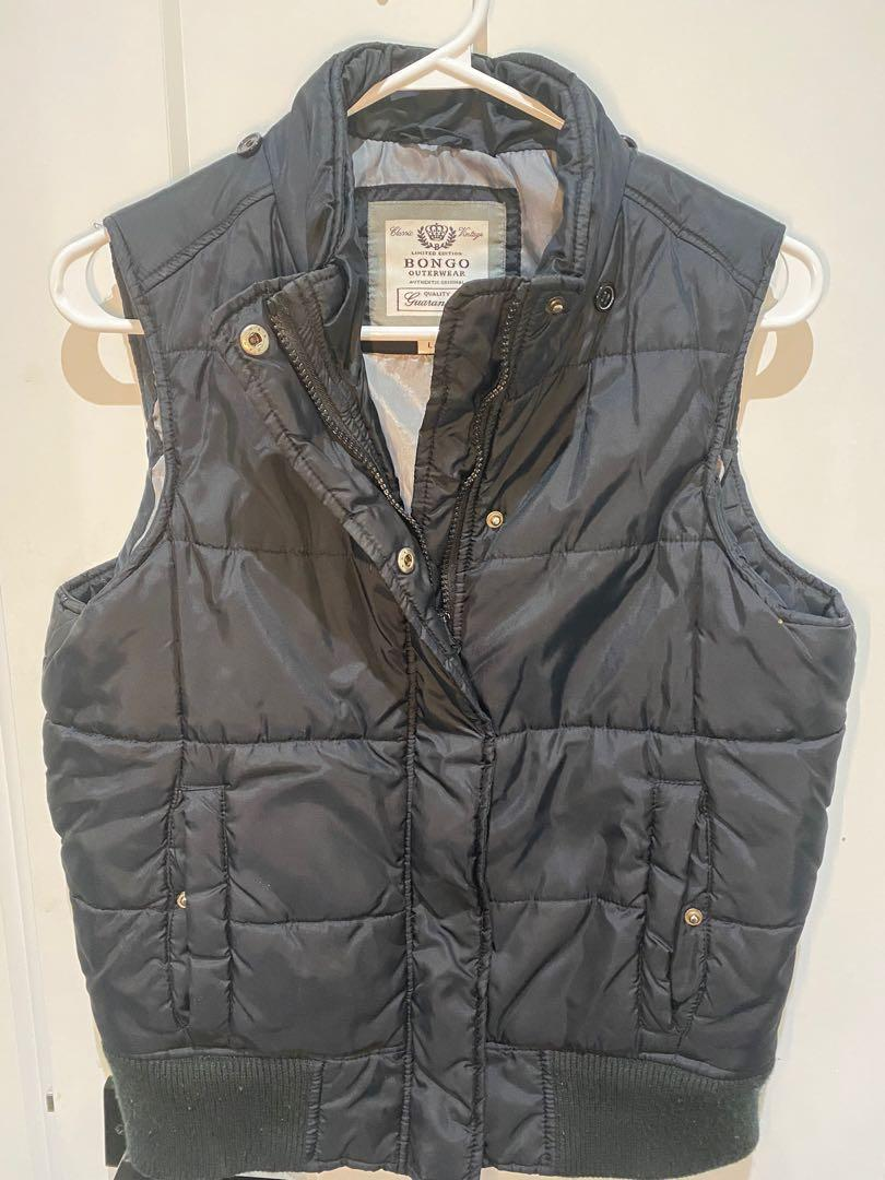 Bongo women's vest size large black