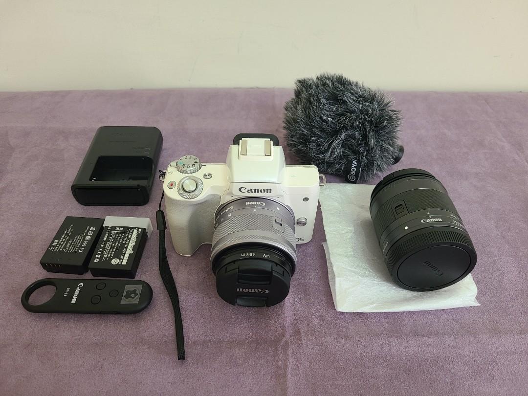 Canon M50 白色