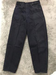 celana jeans hitam baru