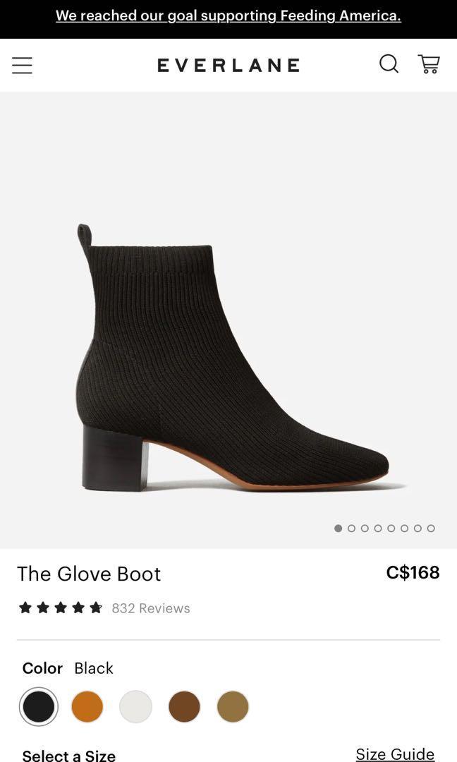 Everlane reknit glove boot
