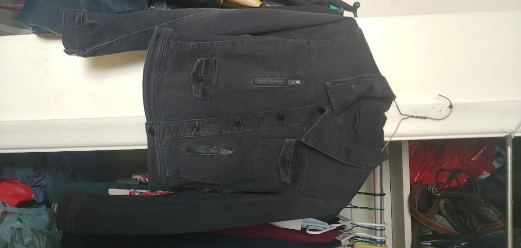 Guess Black Jean Jacket (Small)