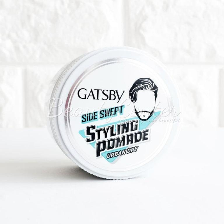 Hair Wax & Pomade GATSBY Side Swept Styling Pomade Urban Dry 75gr