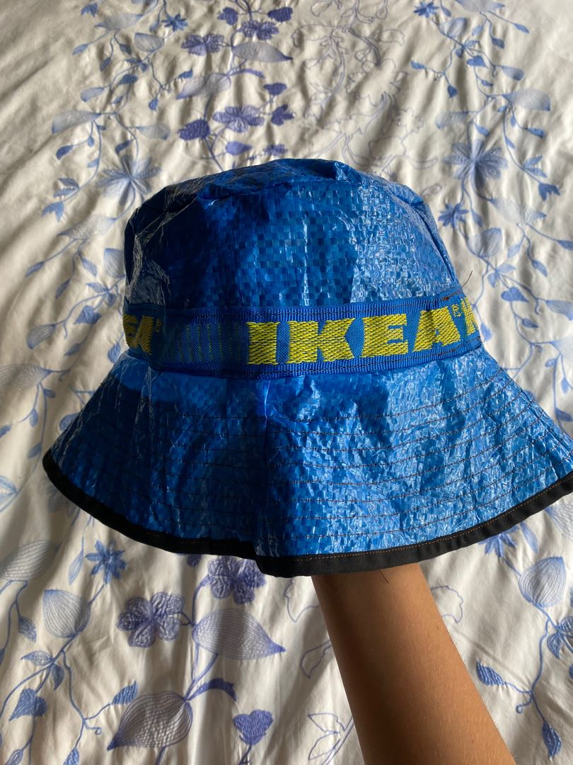 Ikea Bucket Hat With Black Cotton Lining Men S Fashion Accessories Caps Hats On Carousell
