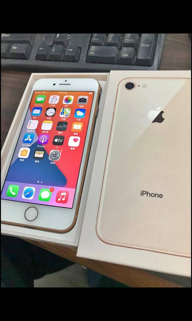 iPhone8 64G.電池健康.機況完美.9成新