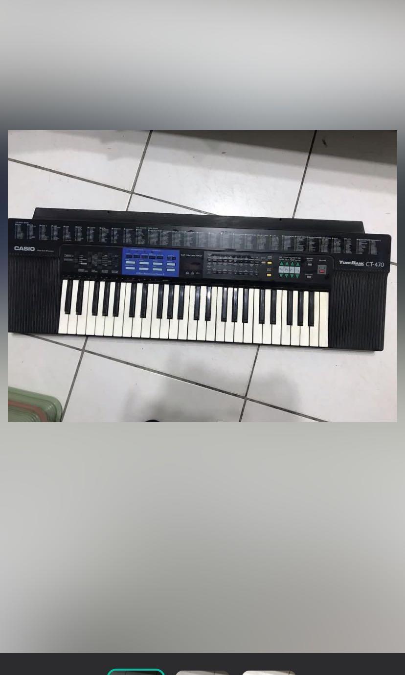 Keyboard-Casio CT-470