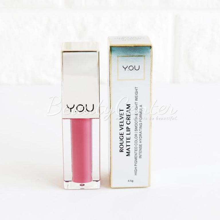 Lip Cream YOU Rouge Velvet Matte Lip Cream - 04 Sassy