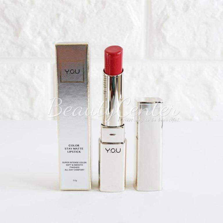 Lipstik YOU Color Stay Matte Lipstik - 09 Ruby