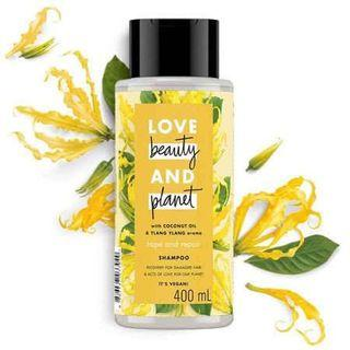 LOVE BEAUTY AND PLANET SHAMPOO (ylang-ylang aroma with coconut oil) 400ml