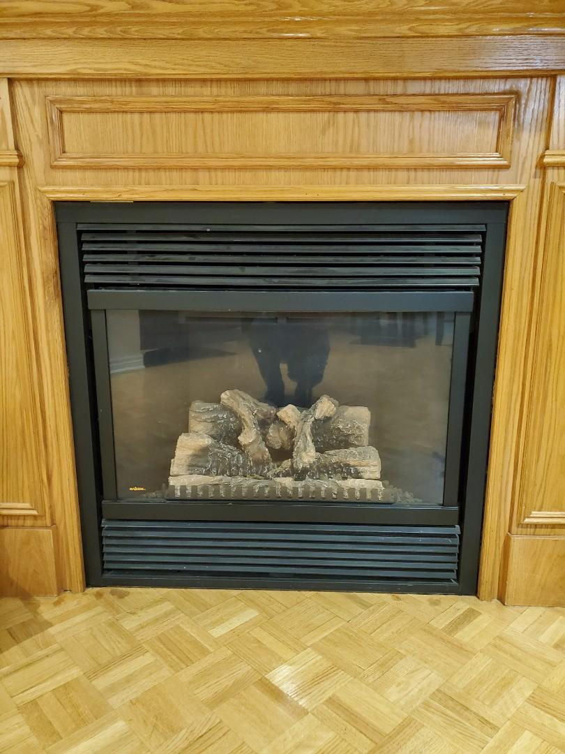 Majestic Natural Gas Fireplace