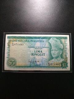 Malaysia 1th RM5