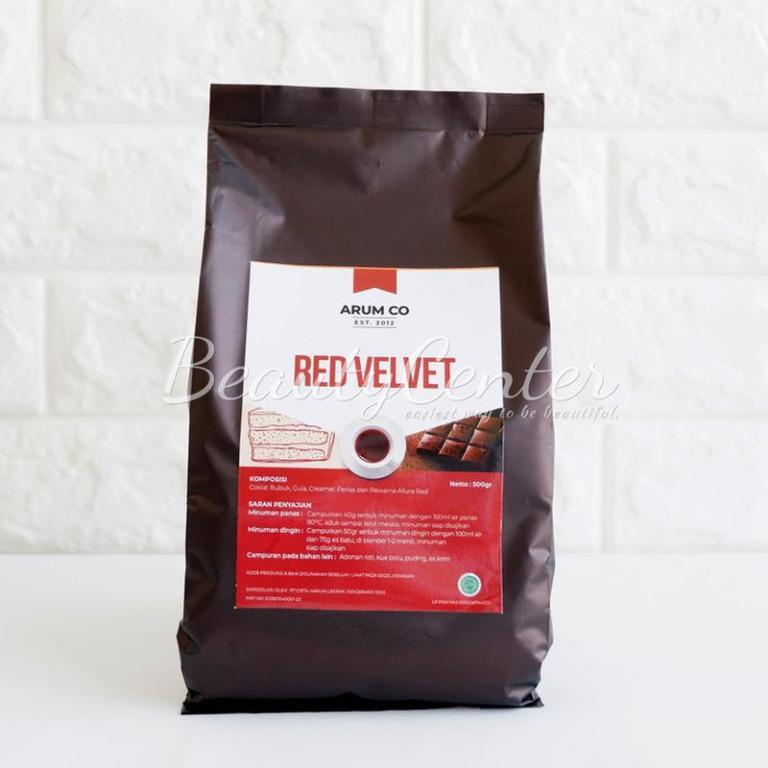 Minuman Bubuk Arum Co Red Velvet 500gr / Instant Drink / Bubuk Minuman Instan
