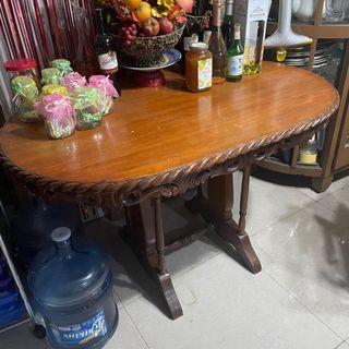 Narra dining table 49inches by 31inches