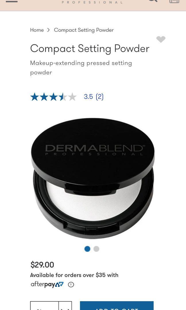NEW Dermablend Pressed powder