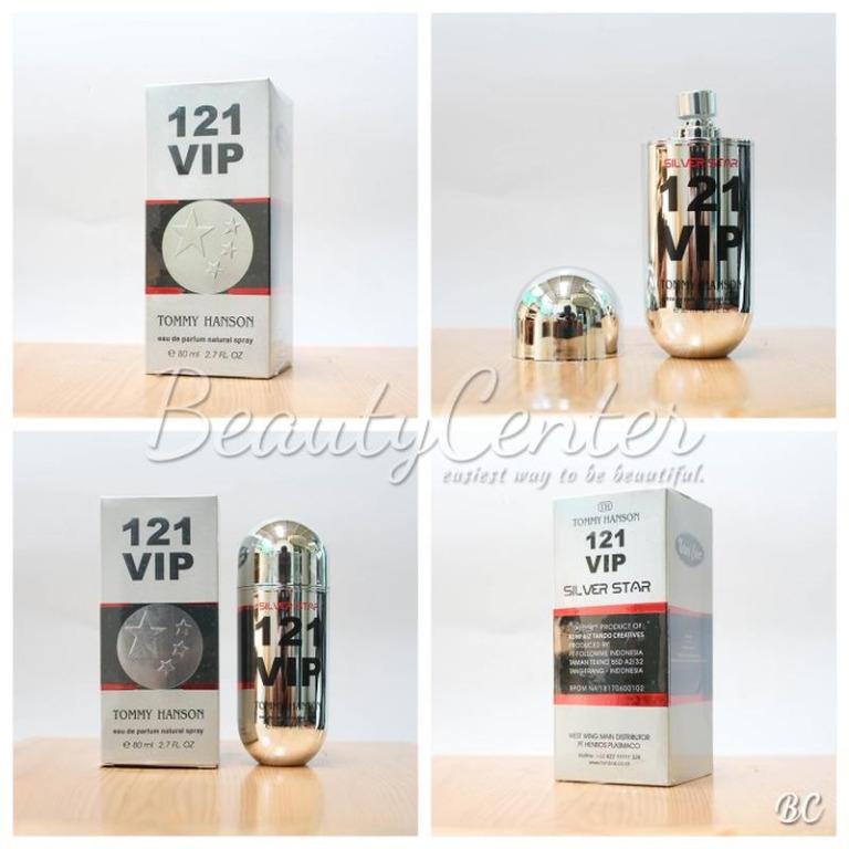 Parfum & Cologne Unisex Parfum Tommy Hanson 121 VIP Silver Star / 80ml